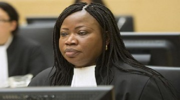 Chief Prosecutor Fatou Bensouda looks on during the case against Congolese militia leader Bosco Ntaganda (not pictured) at the International Criminal Court in The Hague, February 10, 2014.   REUTERS/Toussaint Kluiters/United Photos/Pool